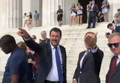 Washington, gaffe di Salvini su Rocky