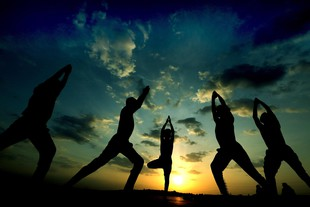 Preparations for the World Yoga Day in Bhopal