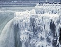 Cold Weather Niagara Falls (ANSA)