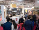 Uno stand a TuttoFood (ANSA)