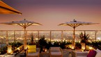 La terrazza panoramica dello storico albergo Andaz West Hollywood (credit West Hollywood Travel/Tourism Board) (ANSA)
