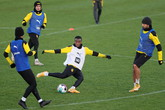 Borussia Dortmund training session (ANSA)