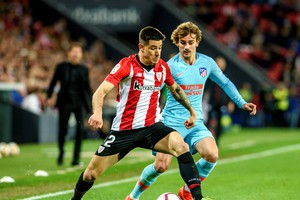 Athletic Bilbao vs Atletico Madrid (ANSA)