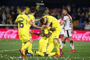 Villarreal-Rayo Vallecano (ANSA)
