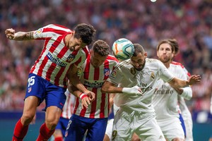 Atletico Madrid-Real Madrid (ANSA)