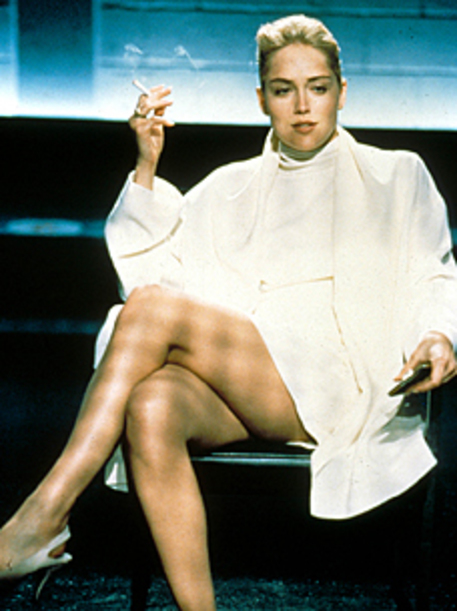 Sharon Stone in Basic Instint © Ansa