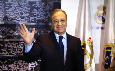 Florentino Perez re-elected as Real Madrid president © EPA