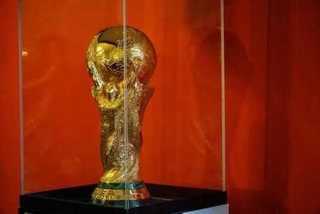 Il 'Fifa World Cup Trophy Tour' sbarca a Napoli © ANSA