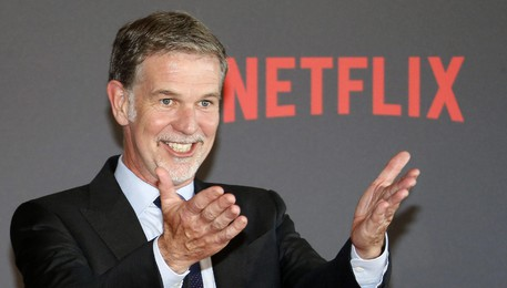 Reed Hastings, Ceo di Netflix(ANSA)