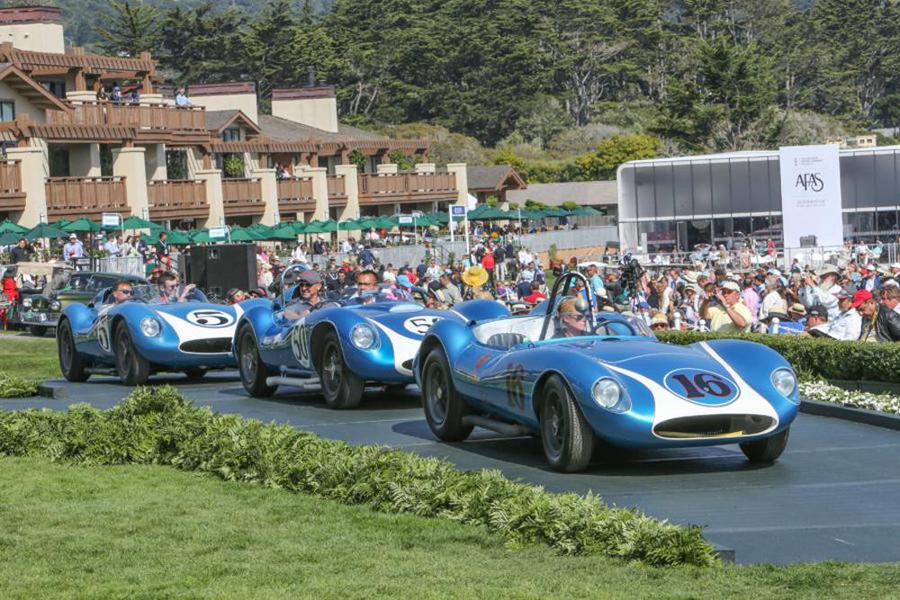 Eventi Monterey e Pebble Beach, 'green carpet' per auto top ©