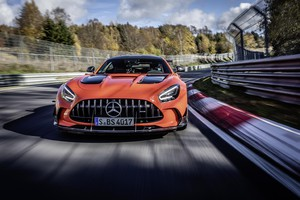 Mercedes AMG Black Series, è record al Nurburgring (ANSA)