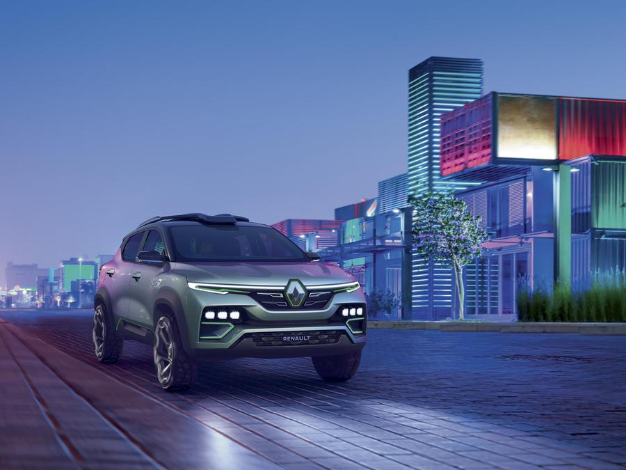 Renault Kiger, la show-car che punta all'India ©